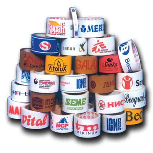 Скотч с логотипом Вашей компании